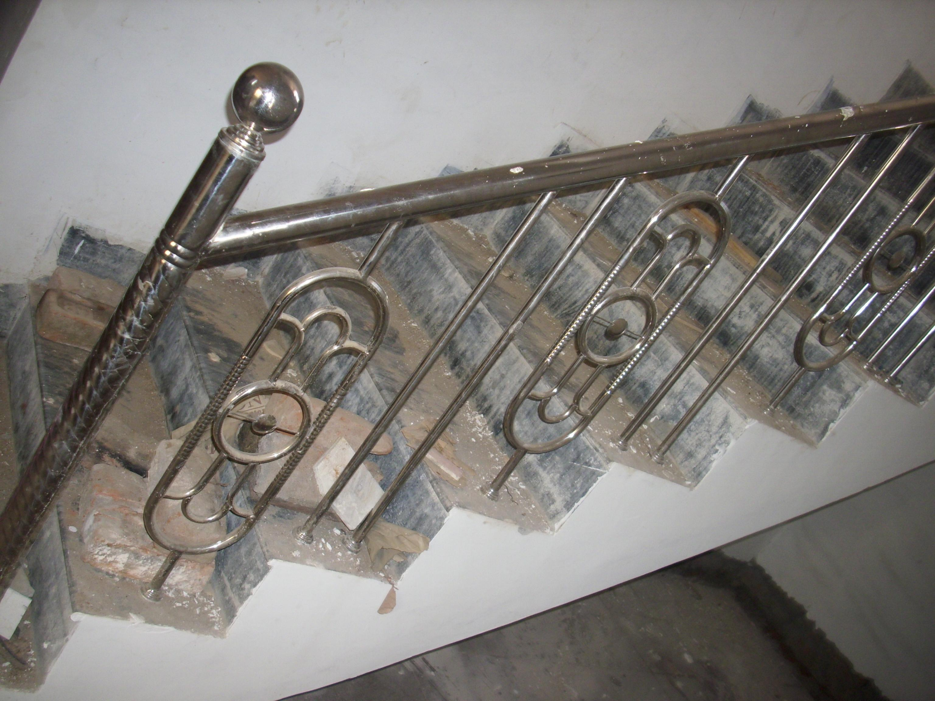 STAIR STEEL RAILING 1