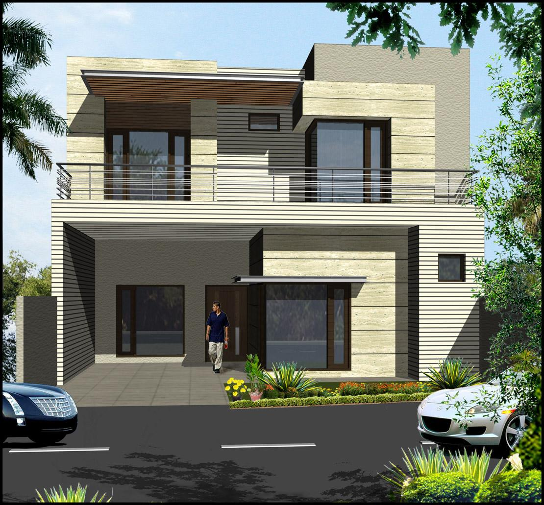 Double storey elevation design....
