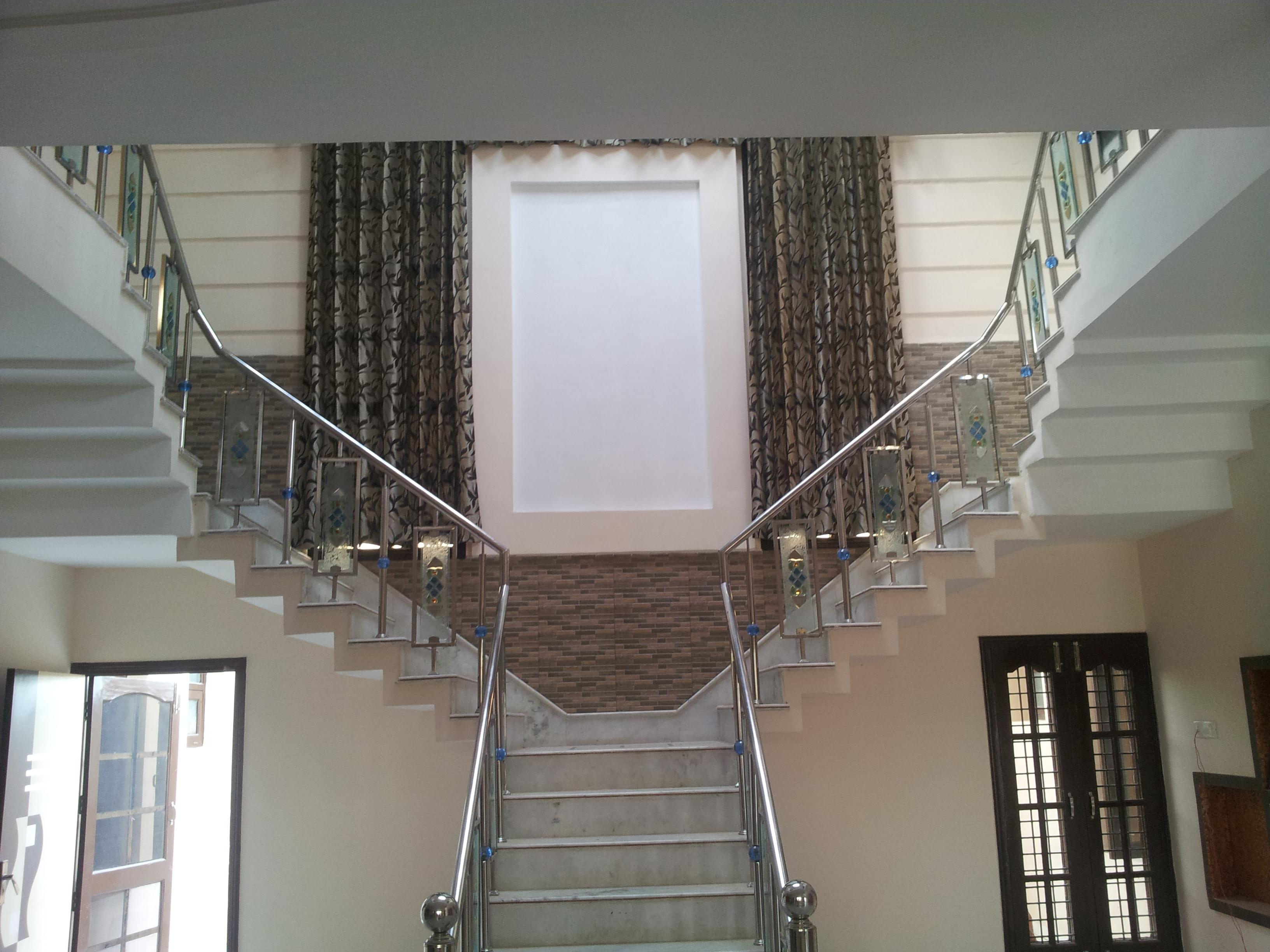living area stairs