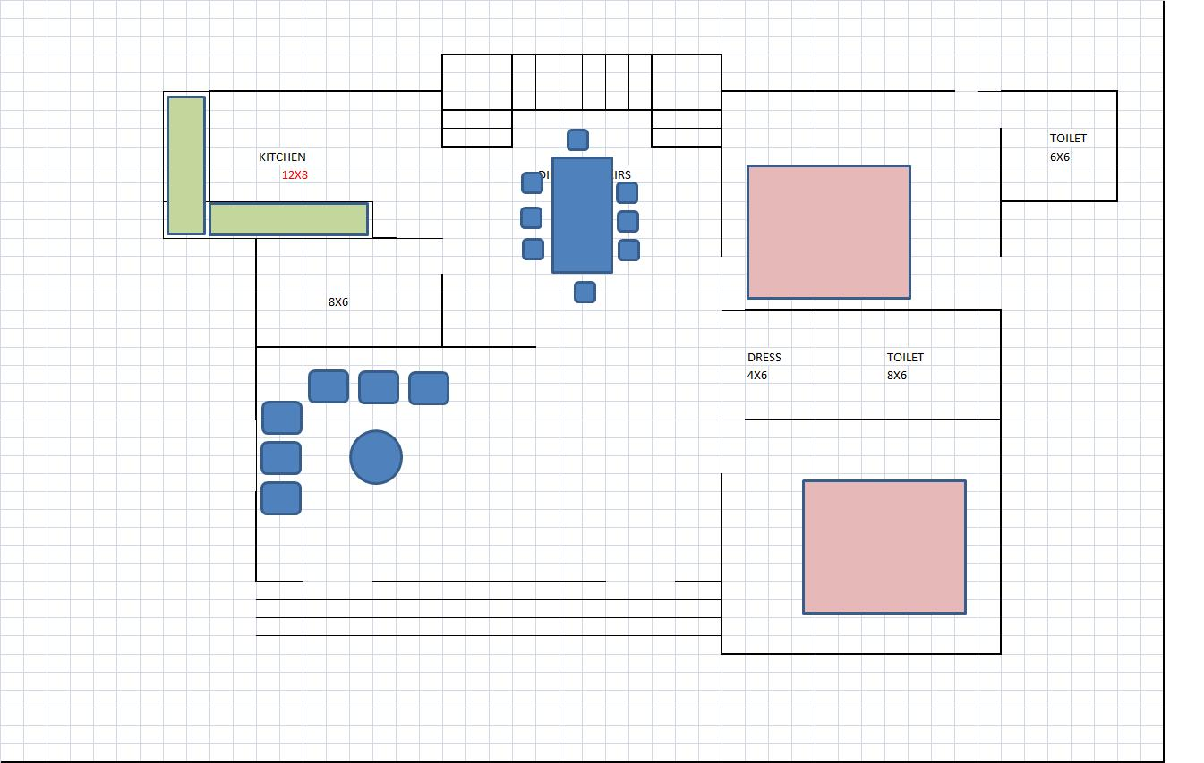 north facing house plan for 50....