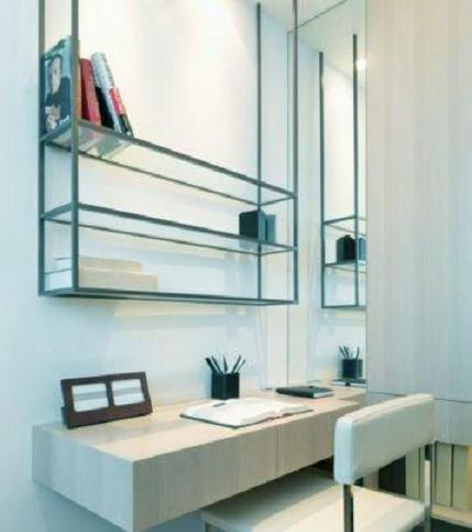 Study Table and Book Rack